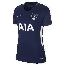 Женское футбольное джерси 2017/18 Tottenham Hotspur FC Stadium AwayЖенское футбольное джерси 2017/18 Tottenham Hotspur FC Stadium Away из дышащей влагоотводящей ткани обеспечивает охлаждение и комфорт.<br>