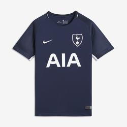 Футбольное джерси для школьников 2017/18 Tottenham Hotspur FC Stadium AwayФутбольное джерси для школьников 2017/18 Tottenham Hotspur FC Stadium Away из легкой влагоотводящей ткани обеспечивает охлаждение и комфорт.<br>