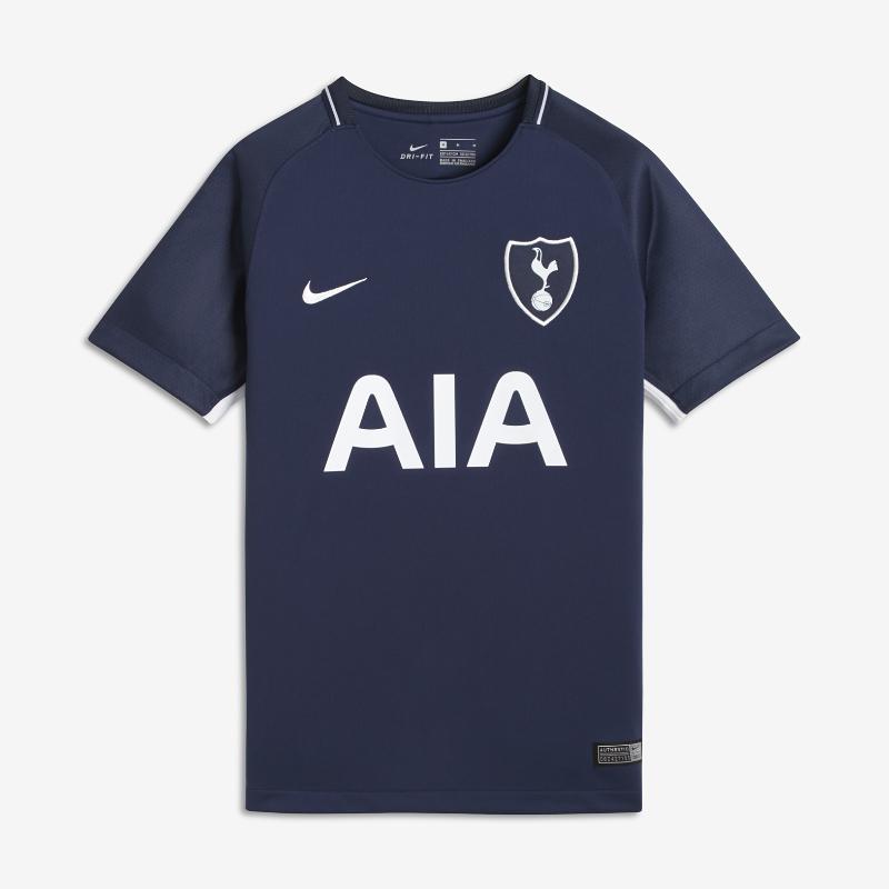 2017/18 Tottenham Hotspur FC Stadium Away Older Kids' Football Shirt