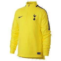 Игровая футболка для школьников Tottenham Hotspur FC Dry Squad DrillИгровая футболка для школьников Tottenham Hotspur FC Dry Squad Drill из эластичной влагоотводящей ткани с рукавами покроя реглан обеспечивает комфорт и свободу движений на поле.<br>