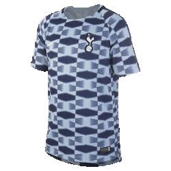 Игровая футболка для школьников Tottenham Hotspur FC Dry SquadИгровая футболка для школьников Tottenham Hotspur FC Dry Squad обеспечивает комфорт на поле благодаря легкой влагоотводящей ткани и сетчатой вставке на спине.<br>