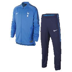 Футбольный костюм для школьников Tottenham Hotspur FC Dry SquadФутбольный костюм для школьников Tottenham Hotspur FC Dry Squad из влагоотводящей ткани с фирменными деталями обеспечивает комфорт.<br>