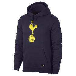Мужская худи Tottenham Hotspur FCМужская худи Tottenham Hotspur FC из мягкой ткани с яркой клубной символикой обеспечивает комфорт на трибунах и на улице.<br>