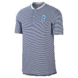 Мужская рубашка-поло Tottenham Hotspur FC Modern Authentic Grand SlamМужская рубашка-поло Tottenham Hotspur FC Modern Authentic Grand Slam из мягкого смесового хлопка дополнена тканой накладкой с символикой команды.<br>