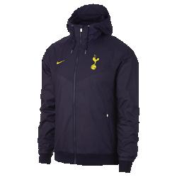 Мужская куртка Tottenham Hotspur FC Authentic WindrunnerМужская куртка Tottenham Hotspur FC Authentic Windrunner сохранила классические элементы оригинальной модели: вставку в виде шеврона на груди и прочную ткань, защищающую от непогодыво время игры или прогулки.<br>