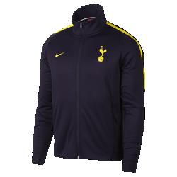 Мужская футбольная куртка Tottenham Hotspur FC FranchiseМужская футбольная куртка Tottenham Hotspur FC Franchise из мягкой ткани двойного переплетения с фирменными деталями обеспечивает комфорт на весь день.<br>