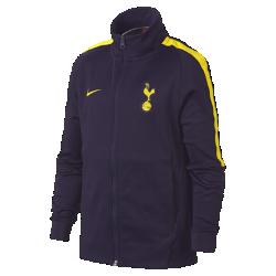 Футбольная куртка для школьников Tottenham Hotspur FC FranchiseФутбольная куртка для школьников Tottenham Hotspur FC Franchise из мягкой и прочной ткани двойного переплетения с фирменными деталями обеспечивает комфорт на весь день.<br>