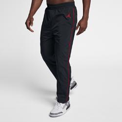 Мужские брюки из тканого материала Jordan Sportswear AJ 3Мужские брюки Jordan Sportswear AJ 3 с классической конструкцией из легкой эластичной ткани с фирменными элементами обеспечивают комфорт и свободу движений на каждый день.<br>