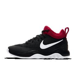 Женские баскетбольные кроссовки Nike Zoom RevЖенские баскетбольные кроссовки Nike Zoom Rev с дышащим динамичным верхом из сетки и подметкой с желобками созданы для легкости и скорости во время игры.Вставка Nike Zoom Air обеспечивает адаптивную защиту от ударных нагрузок, а особая боковая часть — гибкость и сцепление.<br>