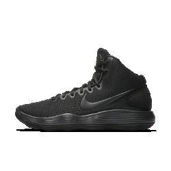 Баскетбольные кроссовки Nike Hyperdunk 2017Баскетбольные кроссовки Nike Hyperdunk 2017 получили самую инновационную систему амортизации для баскетбола: сверхупругий пеноматериал Nike React поможет играть дольше, добиваясь максимальных результатов.  Упругая амортизация  Ультралегкий и прочный пеноматериал Nike React создает мягкую и упругую амортизацию для комфорта на протяжении всей игры и после нее.  Плотная посадка  Внутренняя вставка на половину стопы повторяет ее естественные изгибы, обеспечивая удобную плотную посадку.  Сцепление  Резиновая подметка создает поддержку в точках давления, обеспечивая сцепление в ключевых зонах.<br>