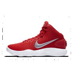 Баскетбольные кроссовки Nike Hyperdunk 2017 (Team)Баскетбольные кроссовки Nike Hyperdunk 2017 получили самую инновационную систему амортизации для баскетбола: сверхупругий пеноматериал Nike React поможет играть дольше, добиваясь максимальных результатов.  Упругая амортизация  Ультралегкий и прочный пеноматериал Nike React создает мягкую и упругую амортизацию для комфорта на протяжении всей игры и после нее.  Плотная посадка  Внутренняя вставка на половину стопы повторяет ее естественные изгибы, обеспечивая удобную плотную посадку.  Сцепление  Резиновая подметка создает поддержку в точках давления, обеспечивая сцепление в ключевых зонах.<br>