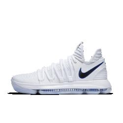 Мужские баскетбольные кроссовки Nike Zoom KDXМужские баскетбольные кроссовки Nike Zoom KDX универсальны, как и сам Кевин Дюрант. Они обеспечивают превосходную адаптивную амортизацию на любой поверхности и поддержку там, где это необходимо.?Фиксация и комфортВставки из легкого материала Flyknit создают зоны воздухопроницаемости, эластичности и поддержки, обеспечивая удобную плотную посадку и фиксацию.<br>