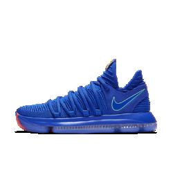 Баскетбольные кроссовки Nike Zoom KDXБаскетбольные кроссовки Nike Zoom KDX универсальны, как и сам Кевин Дюрант. Они обеспечивают превосходную мгновенную амортизацию на любой поверхности и поддержку там, где это необходимо. ? Фиксация и комфорт  Вставки из легкого материала Flyknit создают зоны воздухопроницаемости, эластичности и поддержки, обеспечивая удобную плотную посадку и фиксацию.  Поддержка там, где необходимо  Крупные шнурки обхватывают боковые части стопы, обеспечивая комфортную поддержку там, где это необходимо.  Мгновенная амортизация  Система Nike Zoom Air создает мгновенную амортизацию, поддерживая естественные движения стопы. Утолщенная область пятки смягчает жесткие приземления, а более тонкая область носка позволяет лучше контролировать движения.<br>