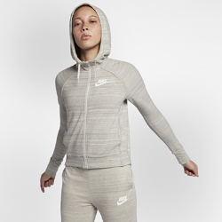 Женская куртка из трикотажного материала Nike Sportswear Advance 15Женская куртка Nike Sportswear Advance 15 из мягкой и теплой трикотажной ткани джерси с рукавами покроя реглан обеспечивает комфорт и свободу движений в прохладную погоду.<br>
