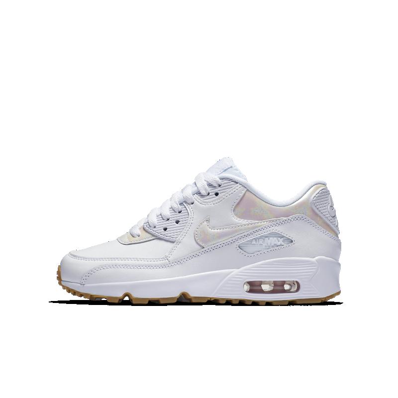 Nike Air Max 90 SE Leather Older Kids' Shoe