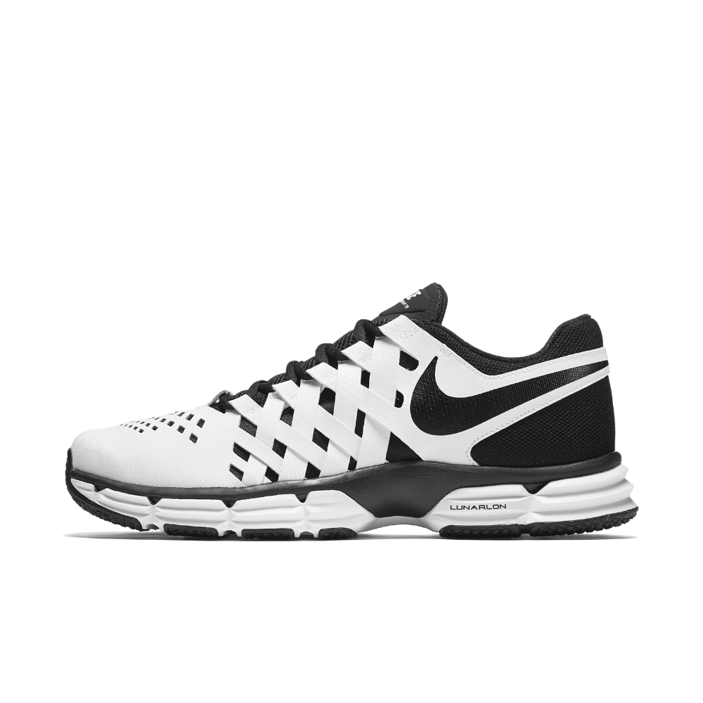 newest d139e af2c8 Nike Lunar Fingertrap TR Men s Training Shoe Size 9.5 (White) - Clearance  Sale