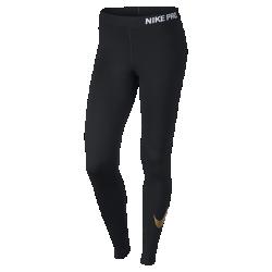 Женские тайтсы для тренинга Nike Pro LogoЖенские тайтсы для тренинга Nike Pro Logo из эластичной влагоотводящей ткани обеспечивают вентиляцию и свободу движений во время тренировок.<br>