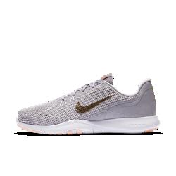 Женские кроссовки для тренинга Nike Flex TR 7 PrintЖенские кроссовки для тренинга Nike Flex TR 7 Print обеспечивают свободу движений стопы в любом направлении благодаря дышащей сетке и шестиугольным эластичным желобкам.<br>