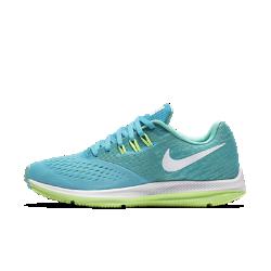 Женские беговые кроссовки Nike Zoom Winflo 4Женские беговые кроссовки Nike Zoom Winflo 4 обеспечивают воздухопроницаемость, плавность движений стопы и сцепление на всей дистанции.<br>
