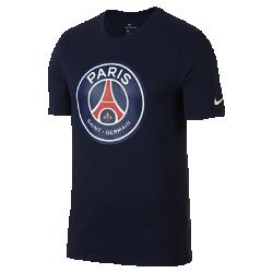 Мужская футболка Paris Saint-Germain CrestМужская футболка Paris Saint-Germain Crest из мягкого хлопка обеспечивает длительный комфорт на трибунах и на улице.<br>