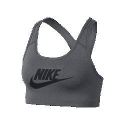 Спортивное бра со средней поддержкой Nike Classic Swoosh FuturaСпортивное бра со средней поддержкой Nike Classic Swoosh Futura из влагоотводящей ткани с компрессионной посадкой обеспечивает длительный комфорт во время тренировки.<br>