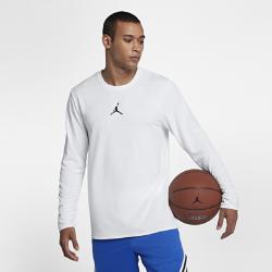 Мужская баскетбольная футболка с длинным рукавом Jordan Ultimate FlightМужская баскетбольная футболка с длинным рукавом Jordan Ultimate Flight из легкой влагоотводящей ткани обеспечивает охлаждение и комфорт.<br>