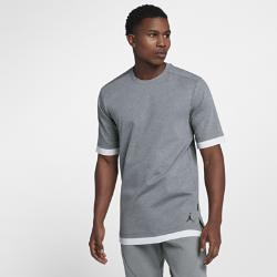 Мужская футболка с коротким рукавом Jordan Sportswear TechМужская футболка с коротким рукавом Jordan Sportswear Tech из эластичной ткани двойного переплетения создает ощущение мягкости и комфорта.<br>
