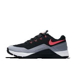 Женские кроссовки для тренинга Nike Metcon Repper DSXЖенские кроссовки для тренинга Nike Metcon Repper DSX выдерживают все нагрузки кросс-тренинга, позволяя двигаться с максимальной скоростью.  Поддержка там, где необходимо  Сверхпрочные нити Flywire интегрированы со шнуровкой для надежной фиксации стопы.  Легкость и амортизация  Амортизирующий пеноматериал обеспечивает легкость и комфорт при поднятии веса, беге, прыжках и упражнениях с канатом.  Стабилизирующая платформа  Плоская область пятки обеспечивает стабилизацию и сцепление с поверхностью при мощных рывках.<br>