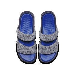 Мужские сланцы NikeLab Benassi Duo Ultra x PigalleМужские сланцы NikeLab Benassi Duo Ultra x Pigalle — это новое роскошное и удобное исполнение классического силуэта. Эта модель посвящена тому факту, что сланцы присутствуют в культуре спорта, в том числе и баскетбола.<br>