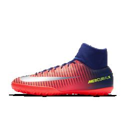Футбольные бутсы для игры на искусственном газоне Nike MercurialX Victory VIФутбольные бутсы для игры на искусственном газоне Nike MercurialX Victory VI разработаны специально для мини-футбола. Первоклассная синтетическая кожа и прочная резиновая подошва обеспечивают превосходное касание и уверенное сцепление на искусственных покрытиях.<br>