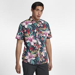 Мужская футболка с коротким рукавом Hurley GardenМужская футболка с коротким рукавом Hurley Garden с цветочным принтом — идеальная стильная модель для прогулки или пикника на пляже. 100 % хлопок обеспечивает воздухопроницаемость и комфорт.<br>