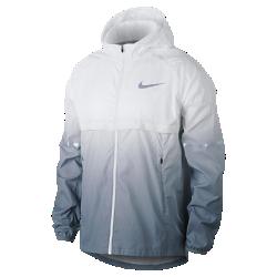 Мужская беговая куртка Nike Shield PrismМужская беговая куртка Nike Shield Prism из ткани с защитой от дождя и ветра обеспечивает вентиляцию там, где это необходимо.<br>