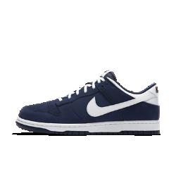 Мужская обувь Nike Dunk LowСозданная в духе классической баскетбольной модели 1985 года, мужская обувь Nike Dunk Low обеспечивает невесомый комфорт благодаря мягкой амортизации и верху из синтетической кожи.&amp;#160;<br>