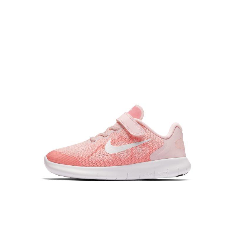 best service 77c2b 789b1 Nike Free RN 2017 Younger Kids'Running Shoe - Pink