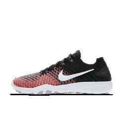 Женские кроссовки для тренинга Nike Free TR Flyknit 2Женские кроссовки для тренинга Nike Free TR Flyknit 2 с мягким верхом и инновационной конструкцией средней части обеспечивают непревзойденный комфорт и поддержку на тренировках с собственным весом и занятиях в тренажерном зале.  Мягкость и комфорт  Утолщенный материал Flyknit обеспечивает мягкость и комфорт на каждой тренировке. Он сочетает зоны вентиляции, эластичности и поддержки там, где это необходимо, повторяя форму стопы для комфорта и легкости.  Легкость и поддержка  Ультралегкие и сверхпрочные нити Flywire растягиваются по диагонали для поддержки. Частичная внутренняя вставка в передней части стопы усиливает поддержку и ощущение комфорта.  Фирменный уровень гибкости  Подметка с рисунком tri-star повышает гибкость и стабилизацию во время работы с весом, бега и других упражнений.  Подробнее  Бесшовная поддерживающая конструкция пятки для комфортной посадки Резиновые накладки на боковой части усиливают стабилизацию и сцепление  Истоки Flyknit  При создании технологии Nike Flyknit специалисты опирались на просьбы атлетов создать обувь, которая бы практически не ощущалась на ноге и сидела словно вторая кожа. Команда программистов, инженеров и дизайнеров Nike в течение 4 лет разрабатывала технологию, которая позволит повысить износостойкость ткани для верха кроссовок и поможет ей дольше сохранять форму. Им удалось довести разработку до совершенства с учетом всех требований к поддержке, эластичности и воздухопроницаемости. Результатом работы стала суперлегкая и практически бесшовная ткань верха, обеспечивающая оптимальное прилегание. Кроме того, невероятно точная технология производства повышает функциональность и сокращает количество отходов в среднем на 60% по сравнению с классическим методом, позволяя сохранить сотни тонн материалов.<br>