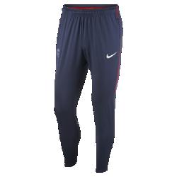 Мужские футбольные брюки Paris Saint-Germain Dry SquadМужские футбольные брюки Paris Saint-Germain Dry Squad из эластичной влагоотводящей ткани обеспечивают комфорт и свободу движений во время тренировок.<br>