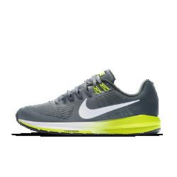 Мужские беговые кроссовки Nike Air Zoom Structure 21Более легкие и прочные, чем предыдущая версия, мужские беговые кроссовки Nike Air Zoom Structure 21 обеспечивают по-прежнему высокий уровень стабилизации и поддержки. Более мягкий и легкий материал Flymesh обеспечивает охлаждение, а система мгновенной амортизации Nike Zoom Air в передней части обеспечивает упругость при каждом шаге.  Воздухопроницаемость и комфорт  Верх из цельного материала Flymesh обеспечивает усиленную вентиляцию. Это более легкая версия материала Flymesh, которая по-прежнему обеспечивает надежную поддержку.  Надежная посадка и поддержка  Технология Dynamic Fit задействует нити Flywire и внутренний ремешок в области свода стопы для адаптивной стабилизации. Два верхних отверстия шнуровки дополнены прочнымии в то же время ультралегкими нитями Flywire, которые интегрированы со шнурками для дополнительной поддержки. Кроме того, эластичный ремешок в области свода стопы создает фиксацию, предотвращая проскальзывание во время бега.  Превосходная стабилизация  Широкая плоская подметка и два типа амортизирующего пеноматериала обеспечивают стабилизацию. Более твердый пеноматериал располагается на внутренней части сводастопы, а более мягкий — с внешней стороны. Это создает нужный уровень стабилизации и защиты от ударных нагрузок.<br>
