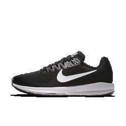 Женские беговые кроссовки Nike Air Zoom Structure 21Более легкие и прочные, чем предыдущая версия, женские беговые кроссовки Nike Air Zoom Structure 21 обеспечивают по-прежнему высокий уровень стабилизации и поддержки. Более мягкий и легкий материал Flymesh обеспечивает охлаждение, а система мгновенной амортизации Nike Zoom Air в передней части повышает упругость при каждом шаге.  Воздухопроницаемость и комфорт  Верх из цельного материала Flymesh обеспечивает усиленную вентиляцию. Это более легкая версия материала Flymesh, которая по-прежнему обеспечивает надежную поддержку.  Надежная посадка и поддержка  Технология Dynamic Fit задействует нити Flywire и внутренний ремешок в области свода стопы для адаптивной стабилизации. Два верхних отверстия шнуровки дополнены прочнымии в то же время ультралегкими нитями Flywire, которые интегрированы со шнурками для дополнительной поддержки. Кроме того, эластичный ремешок в области свода стопы создает фиксацию, предотвращая проскальзывание во время бега.  Превосходная стабилизация  Широкая плоская подметка и два типа амортизирующего пеноматериала обеспечивают стабилизацию. Более твердый пеноматериал располагается на внутренней части сводастопы, а более мягкий — с внешней стороны. Это создает нужный уровень стабилизации и защиты от ударных нагрузок.<br>