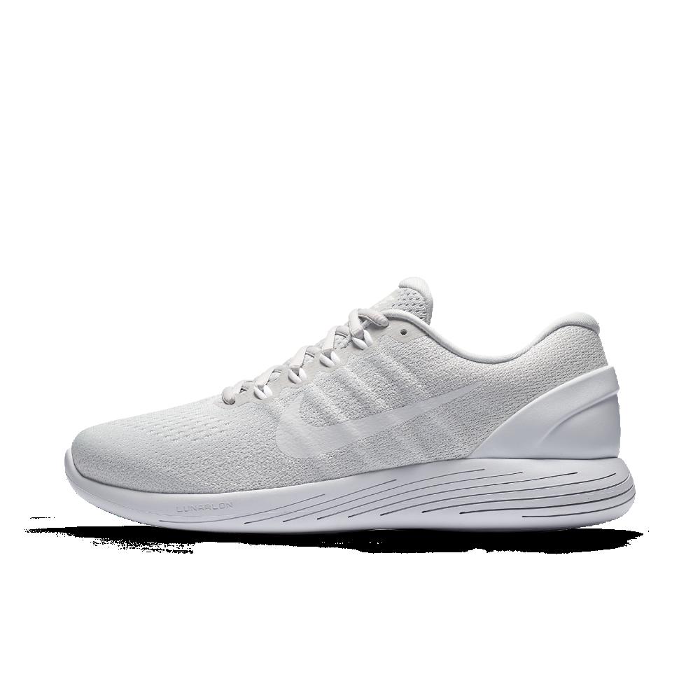 251ba8a49 Nike LunarGlide 9 Men's Running Shoe Size 12 (Silver) - Clearance Sale