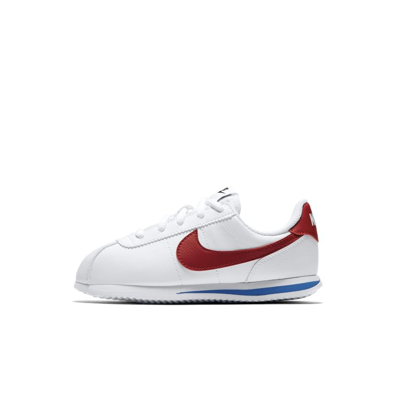 Nike Cortez Basic SL Younger Kids' Shoe - White Image