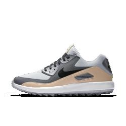 Мужские кроссовки для гольфа Nike Air Zoom 90 IT NGCМужские кроссовки для гольфа Nike Air Zoom 90 IT NGC — это новая версия легендарных Air Max 90, любимой модели гольфиста Рори Макилроя. Водонепроницаемая конструкция, адаптивная амортизация и надежное сцепление помогают показать максимальный результат. Преимущества  Подклад язычка и бортик из кожи для прочности и комфорта Водонепроницаемая мембрана защищает от непогоды Цельная конструкция плотно облегает стопу Специальный рисунок Integrated Traction для оптимального сцепления Вставка Nike Zoom Air для мгновенной низкопрофильной амортизации Вощеные шнурки и пробковая стелька для превосходного стиля<br>