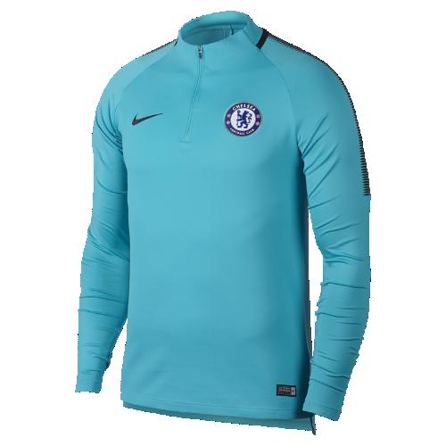 チェルシー FC Dri-FIT スクワッド ドリル メンズ サッカートップ 905174-451 ブルー