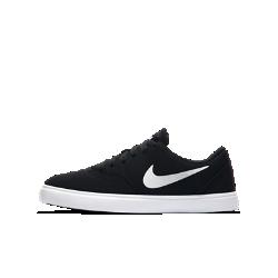 Обувь для скейтбординга для школьников Nike SB Check CanvasОбувь для скейтбординга для школьников Nike SB Check Canvas обеспечивает комфорт во время катания и любых других занятий. Особо прочная передняя часть с внешней стороны защищает обувь от износа во время выполнения трюков.<br>