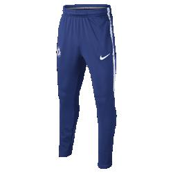 Футбольные брюки для школьников Chelsea FC Dry SquadФутбольные шорты для школьников Chelsea FC Dry Squad из эластичной влагоотводящей ткани обеспечивают комфорт и свободу движений во время тренировок.<br>