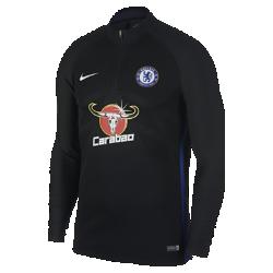 Мужская игровая футболка Chelsea FC AeroSwift Strike DrillМужская игровая футболка Chelsea FC AeroSwift Strike Drill из дышащей эластичной ткани обеспечивает охлаждение, позволяя играть на высокой скорости.<br>