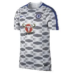 Мужская игровая футболка Chelsea FC Dry SquadМужская игровая футболка Chelsea FC Dry Squad из легкой влагоотводящей ткани с рукавами покроя реглан обеспечивает комфорт и свободу движений во время игры.<br>