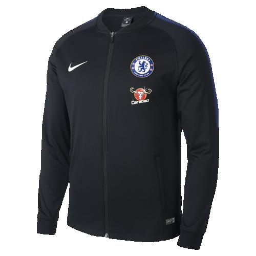 チェルシー FC Dri-FIT スクワッド メンズ トラック ジャケット 905454-011 ブラック