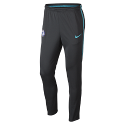 Мужские футбольные брюки Chelsea FC Dri-FIT SquadМужские футбольные брюки Chelsea FC Dri-FIT Squad из влагоотводящей ткани с эргономичными швами обеспечивают комфорт и свободу движений во время тренировок.<br>