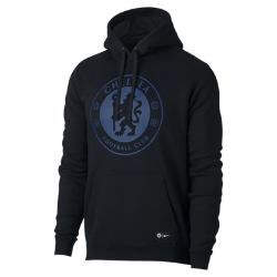 Мужская футбольная худи Chelsea FC CrestМужская футбольная худи Chelsea FC Crest с подкладом из мягкого флиса с начесом и клубной символикой сохраняет тепло и обеспечивает комфорт трибунах и на улице.<br>