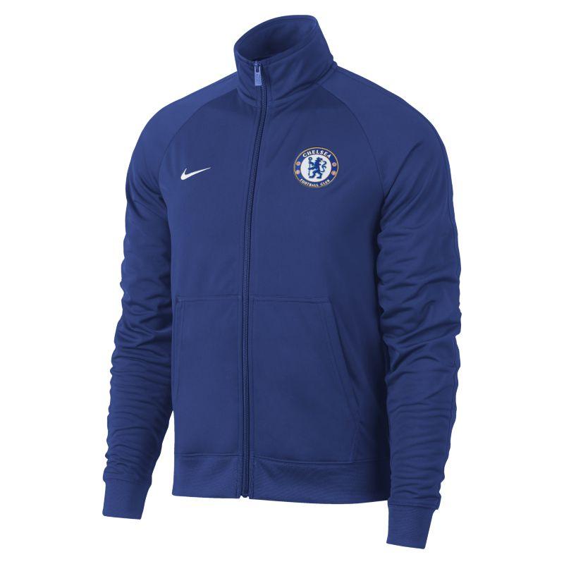 Nike Chelsea FC Men's Football Jacket - Blue Image